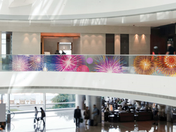 G Colour Transparent LED Film