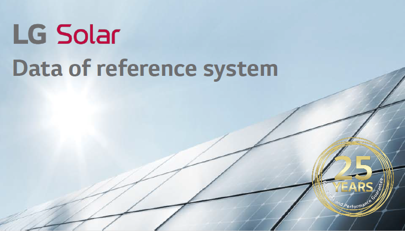 Solar data of reference system header